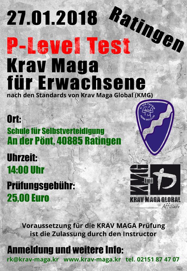 27 januar 2018 p level test krav maga f r erwachsene krav maga schule f r selbstverteidigung. Black Bedroom Furniture Sets. Home Design Ideas