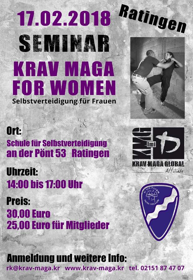 frauenseminar krav maga ratingen krav maga schule f r selbstverteidigung. Black Bedroom Furniture Sets. Home Design Ideas